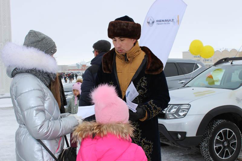 Новости Уральск - Компания «Урал-Кров-Авто Плюс» отметила Наурыз вместе с горожанами