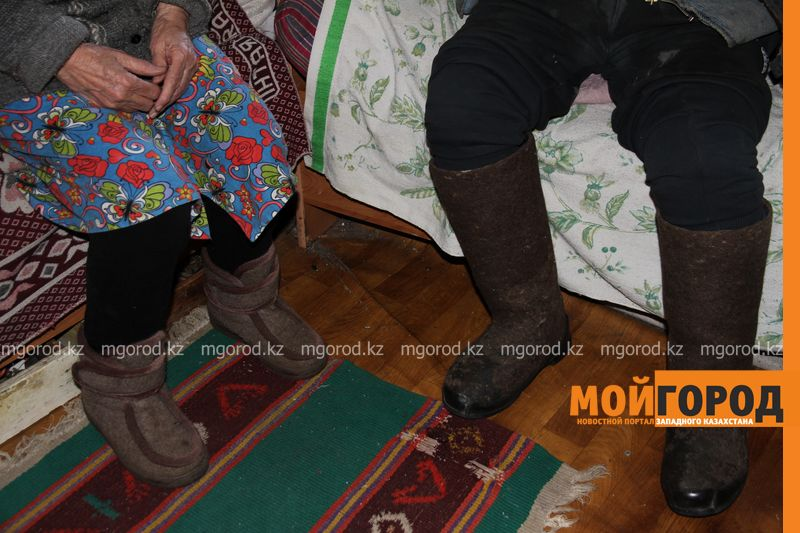 Новости Уральск - Уральские волонтеры помогают одиноким старикам