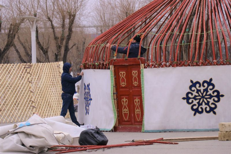 Новости Атырау - Самую красивую юрту выберут в Атырау