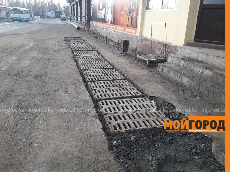 Новости Атырау - На 8 участках Атырау будет установлена ливневая система