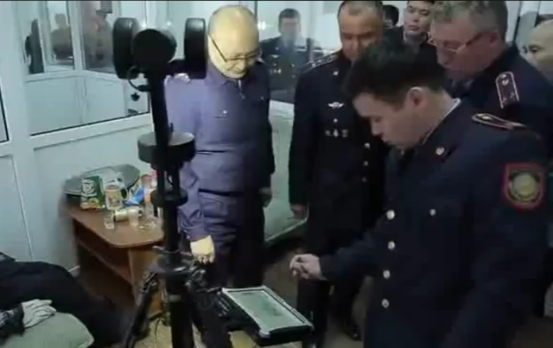 Новости Атырау - Криминалисты Атырау получили обновленный учебный полигон (видео)