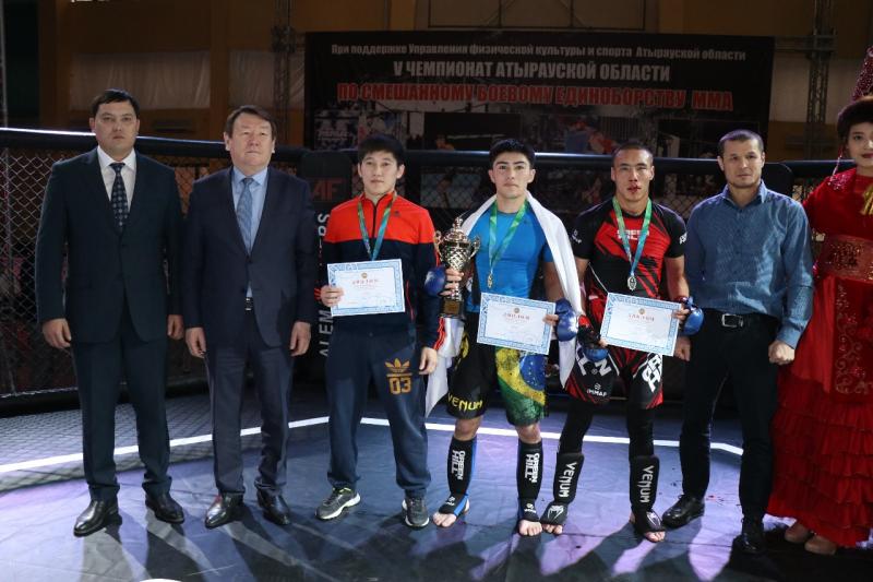 Новости Атырау - 14 атырауских бойцов прошли отбор на республиканский чемпионат по ММА