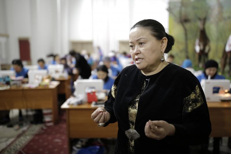 Новости Атырау - 200 женщин приняли участие в мастер-классе по этноремеслу в Атырау
