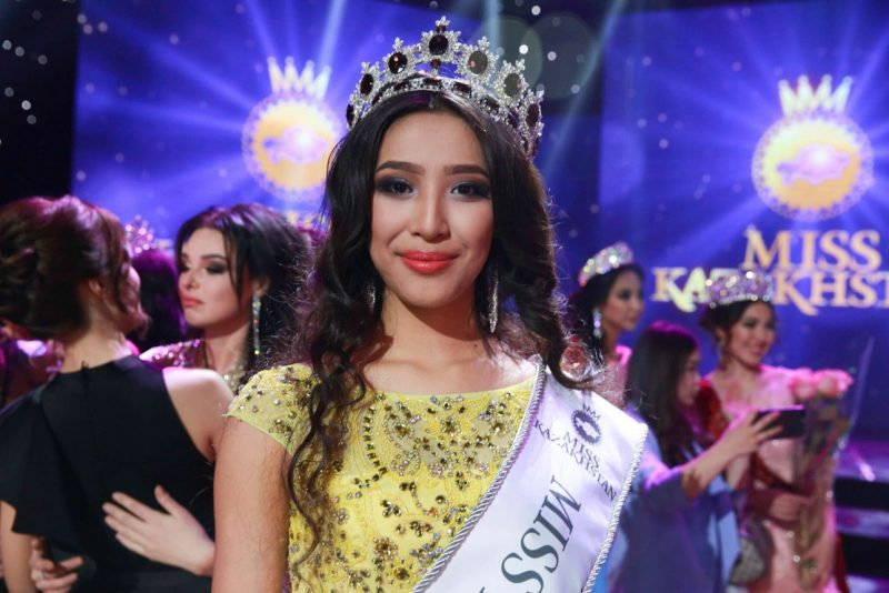 Мисс Казахстан стала 16-летняя девушка из Атырау