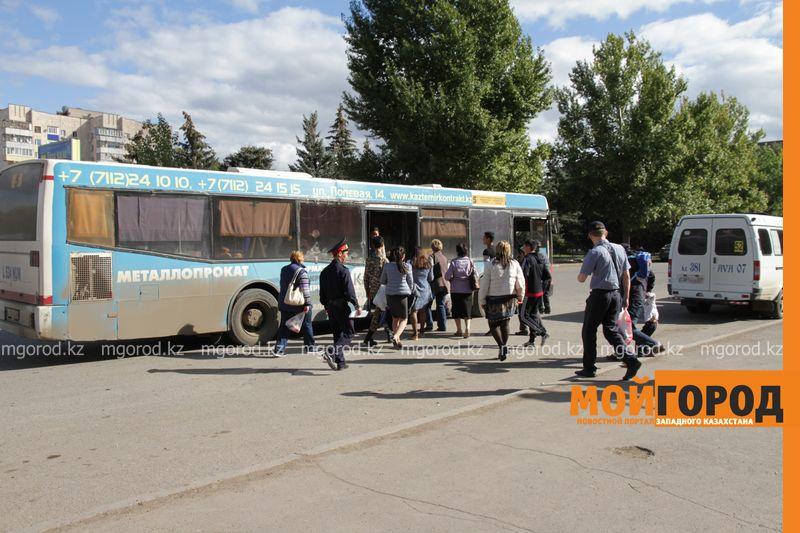 График движения пассажирских автобусов на Родительский день в Уральске