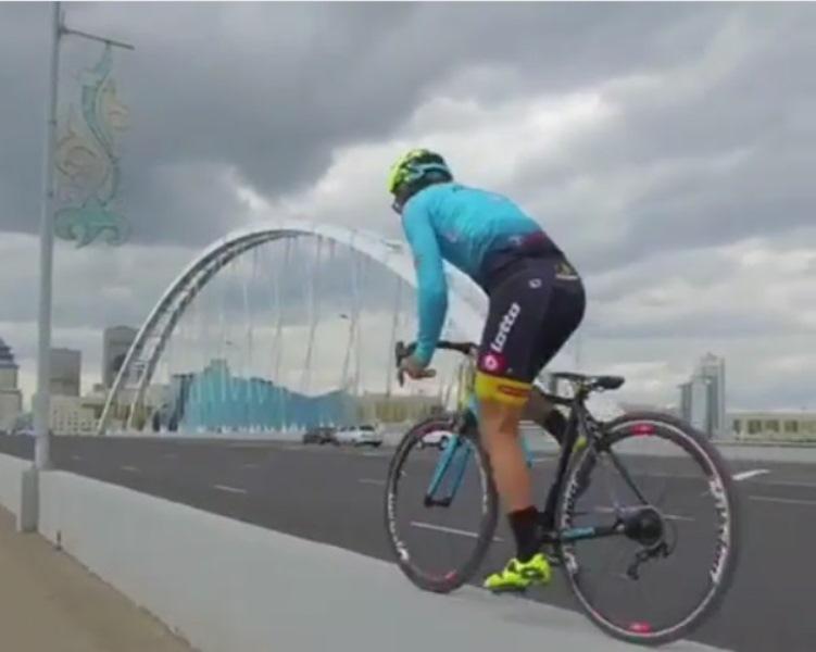 Итальянский экстремал Витторио Брумотти примет участие в велопробеге в Атырау (видео)