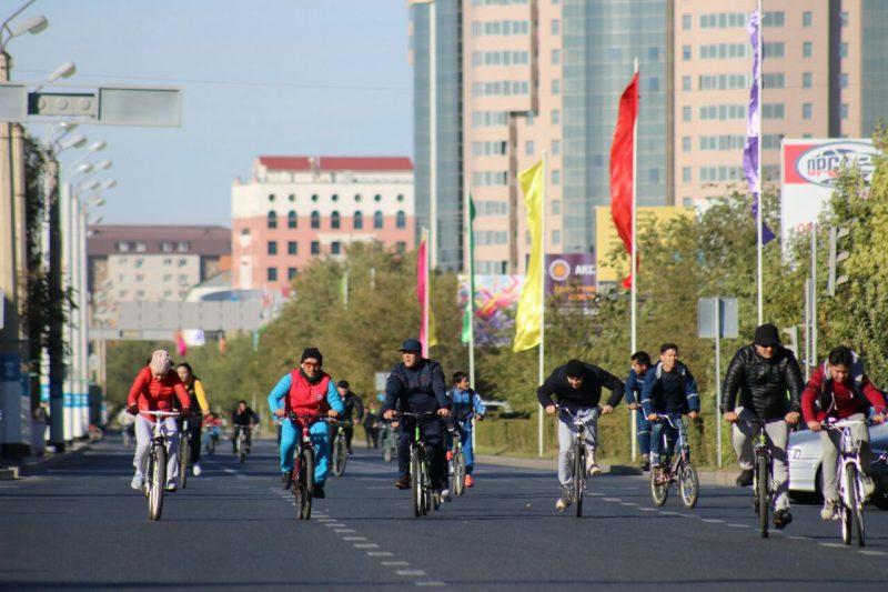 Победителей велопробега в Атырау наградят по пяти номинациям