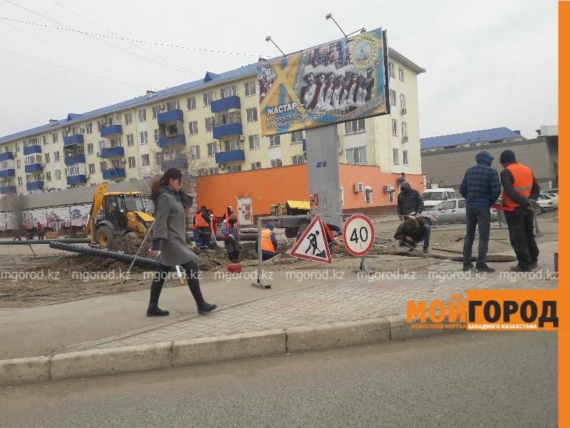 В центре Атырау на два дня ограничат движение
