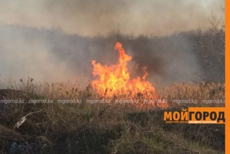 Новости Атырау - В ДЧС Атырауской области предупредили о начале пожароопасного сезона
