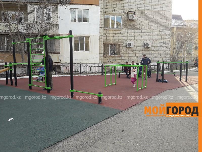 Новости Атырау - 4 новые площадки для занятий Street workout появились в Атырау