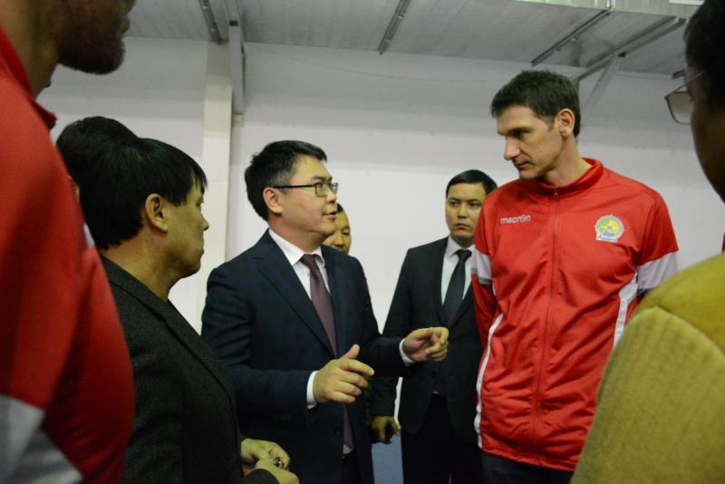 Атырауская волейбольная команда стала чемпионом Казахстана