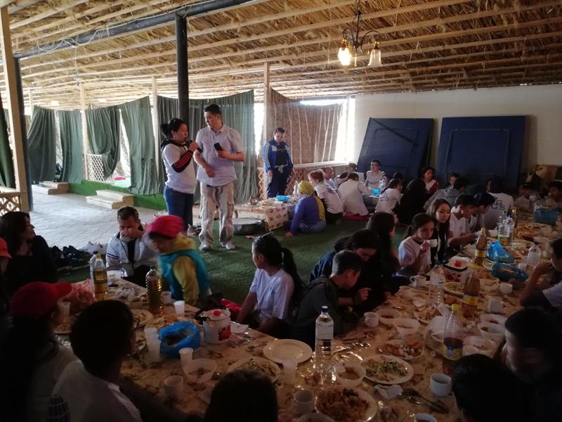 Новости Атырау - «GLOBAL CONSULTING SERVICE» провел среди будущих студентов Польши Тимбилдинг