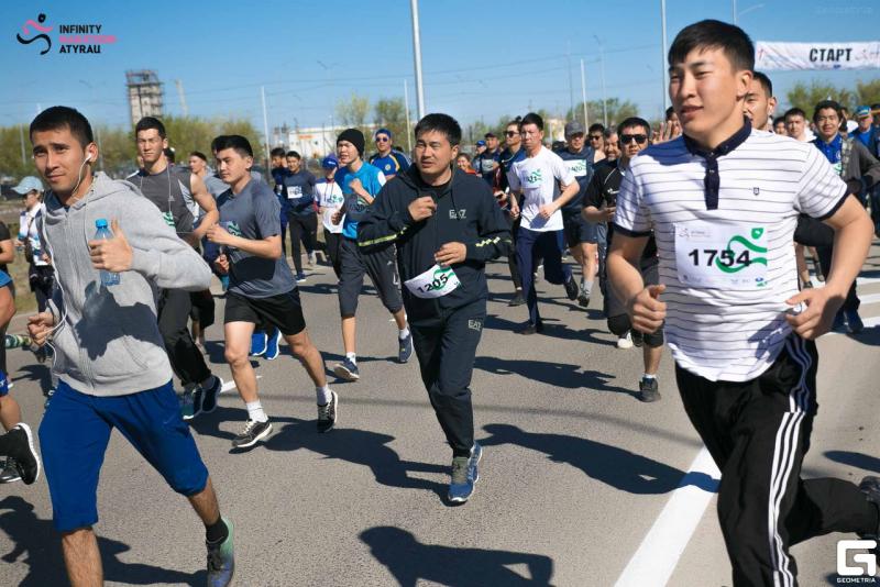 Меценат из Атырау купил 500 мест для участия жителей в марафоне