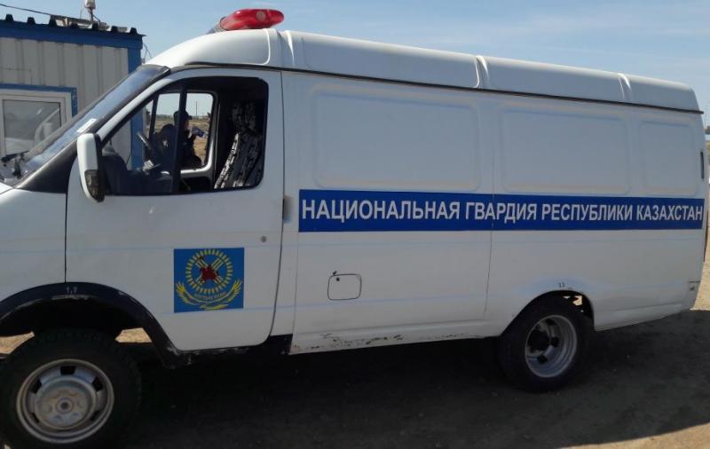 Новости Атырау - 160 кг осетрины пытались провезти военослужащие Нацгвардии РК в Атырау