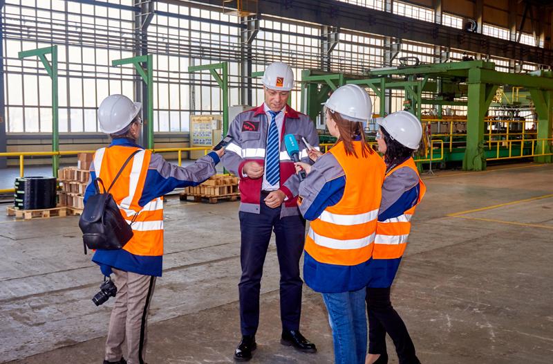 Новости Уральск - ТМК-Казтрубпром принял участие в проведении Всемирного Дня безопасности «Steel Safety Day - 2018»