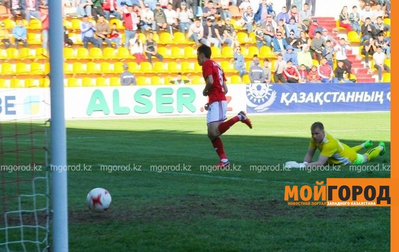 «Актобе» и«Акжайык» забили восемь голов вматче десятого тура КПЛ
