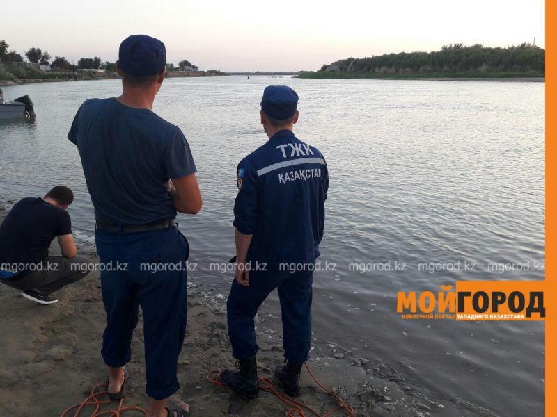 В пригороде Атырау утонул 16-летний подросток