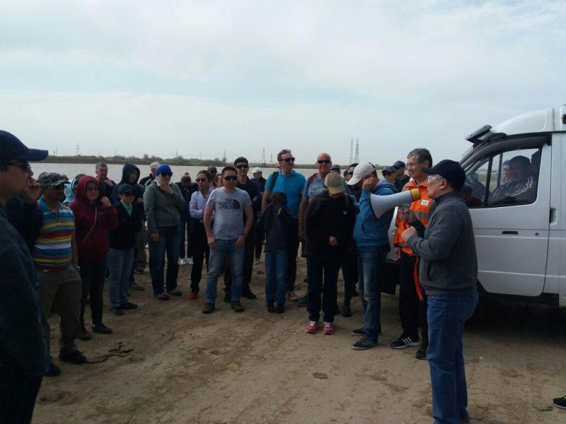 Новости Атырау - 15 тонн мусора собрали волонтеры с берегов Урала в Атырау