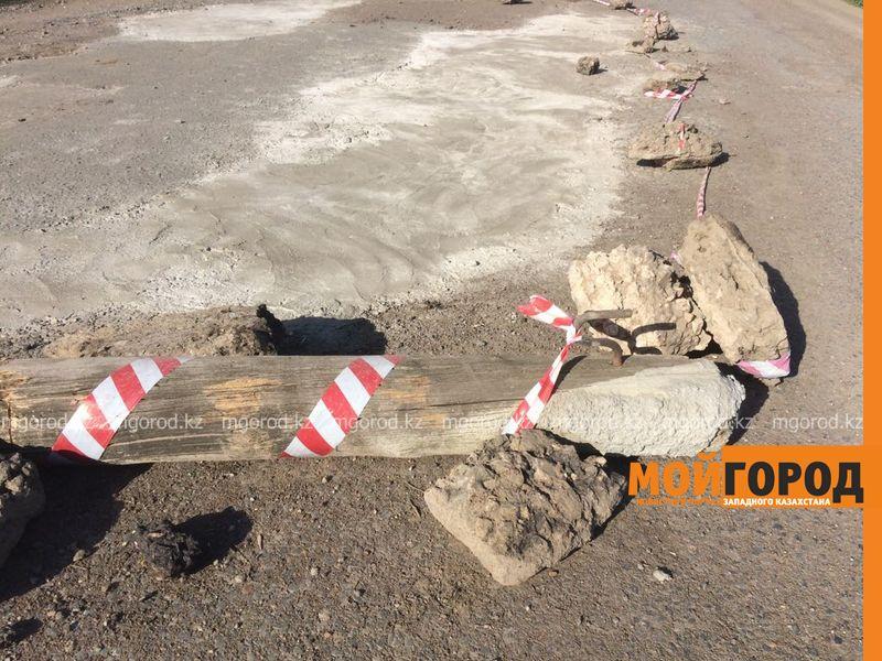 Новости Уральск - Бизнесмен из ЗКО за свой счет отремонтировал дорогу в месяц Рамазан