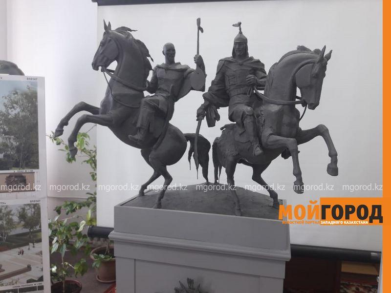 Новости Уральск - Эскизы памятника Махамбету и Исатаю обсудили в Уральске
