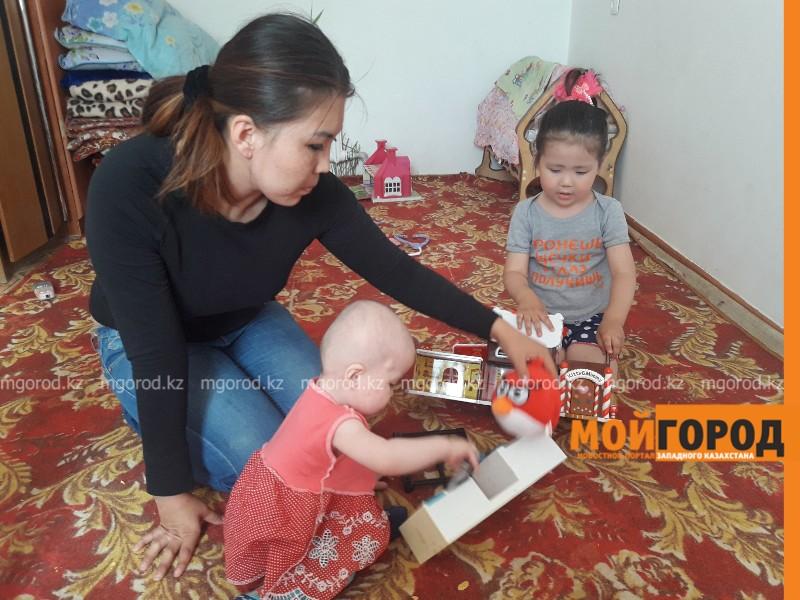 Новости Атырау - Мать-одиночка из Атырау: Когда дети начинают плакать от голода, мне не хочется жить