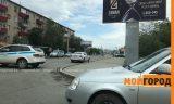 В Атырау полицейские оцепили одну из центральных улиц города (видео)