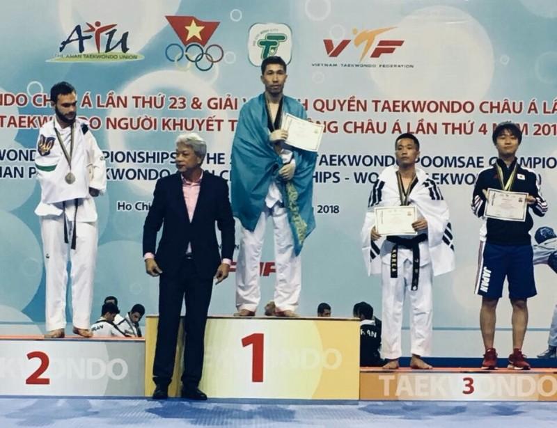 Новости Атырау - Атырауский паратаеквондист стал Чемпионом Азии