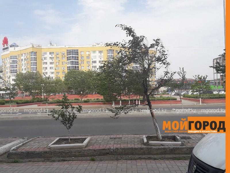 Новости Атырау - На Атырау обрушился шторомовой ветер (видео)