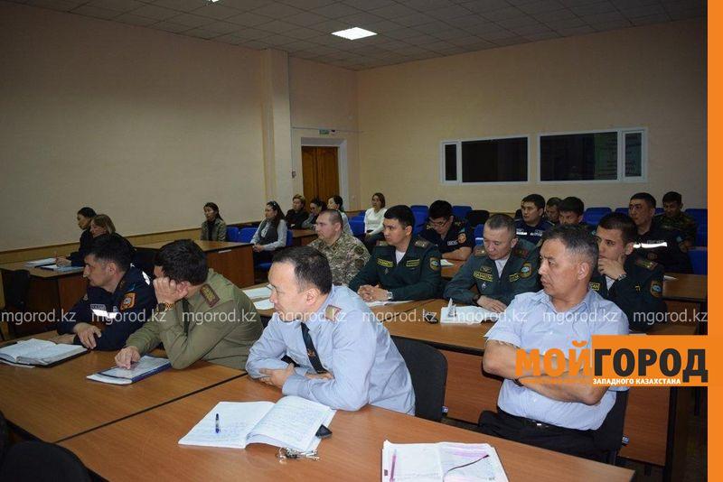 Новости Уральск - Собрание по профилактике суицидов провели среди спасателей ЗКО