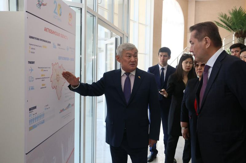 Дни Астаны проходят в Актюбинской области