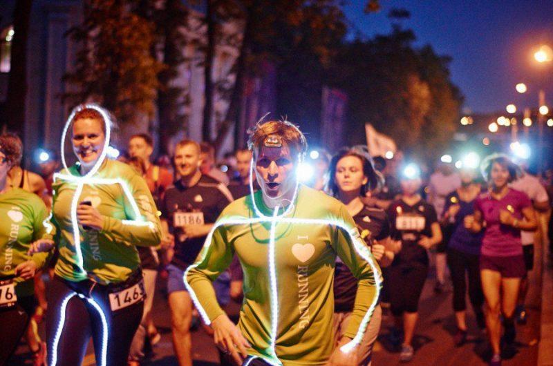 Новости Атырау - В Атырау впервые пройдет ночной марафон