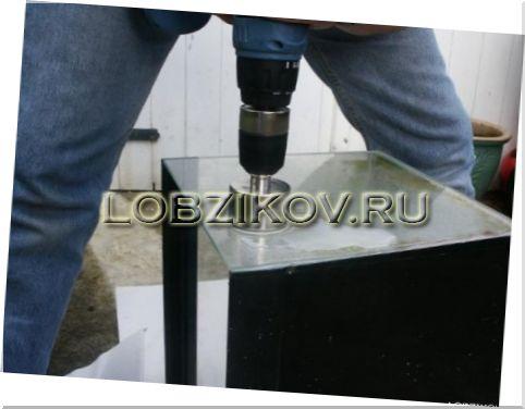 Новости PRO Ремонт - Сверление стекла в домашних условиях