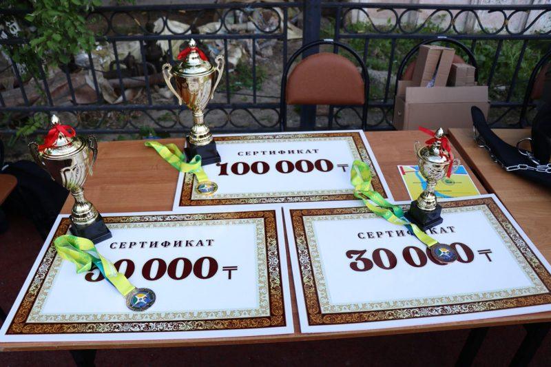 Новости Атырау - 100 тысяч тенге получил победитель турнира по street workout в Атырау