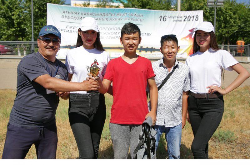 10-летний мальчик стал лучшим рыболовом Атырау