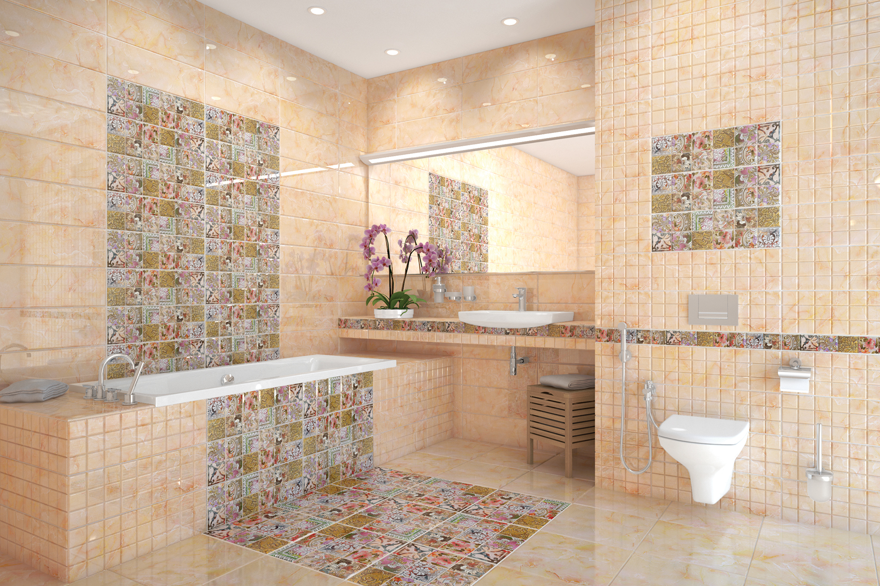 Новости PRO Ремонт - Керамическая плитка для кухни, ванной комнаты, стен и пола