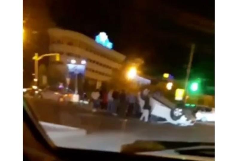 Новости Атырау - 4 человека пострадали при опрокидывании автомобиля в Атырау