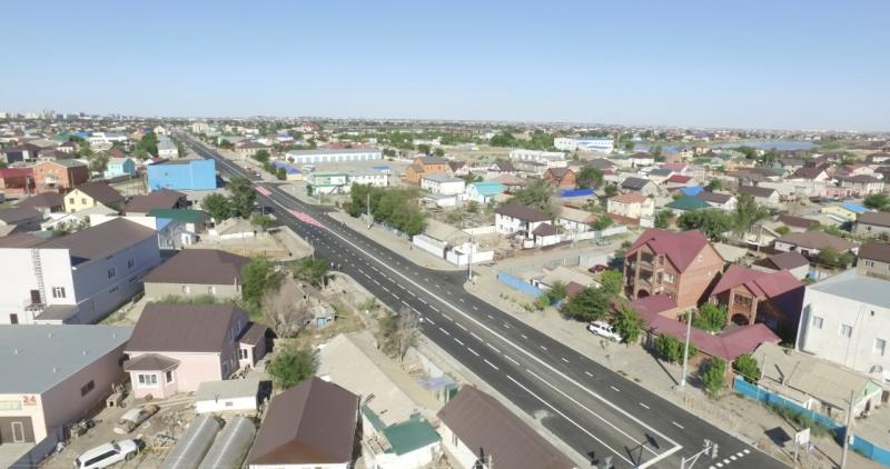 Новости Атырау - Жители Атырау пожаловались на отсутствие тротуаров на обновленной ул.Баймуханова