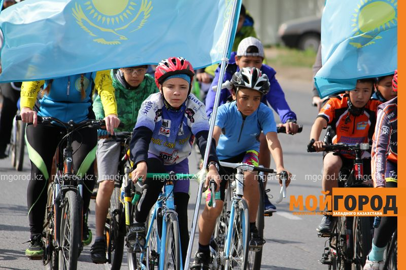 Новости Уральск - Сотни уральцев приняли участие в велопробеге