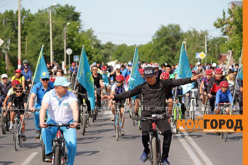 Сотни уральцев приняли участие в велопробеге