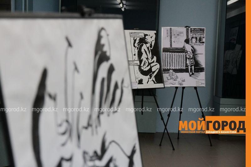Новости Уральск - В Уральске открылась выставка картин казахстанской художницы Ансаган Мустафа