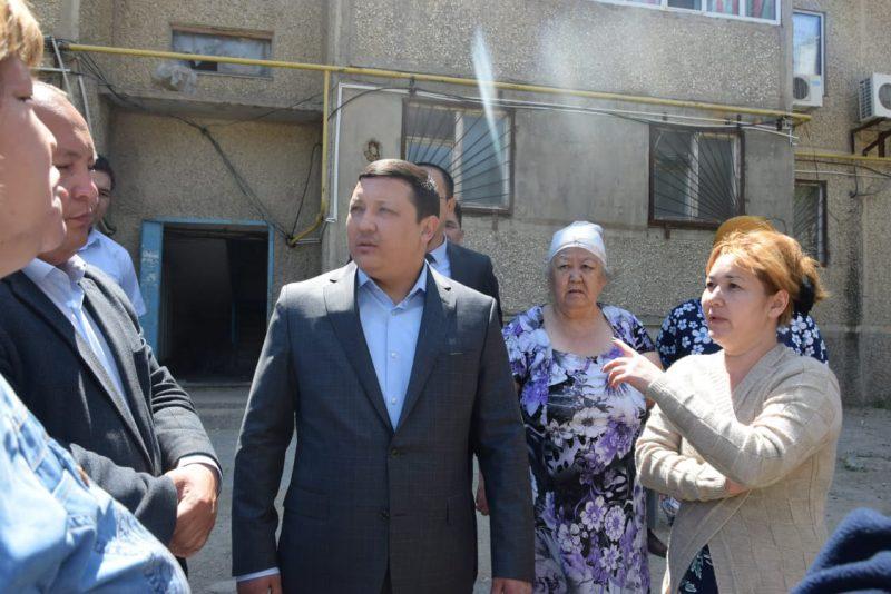 Новости Атырау - Жители Жылыойского района Атырауской области пожаловались акиму на нехватку воды