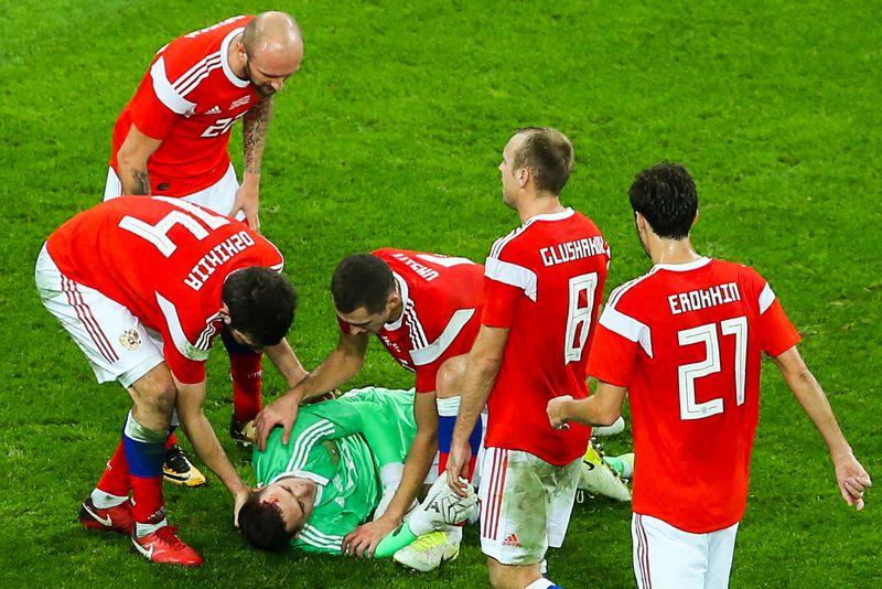 Новости - Россия победила Испанию в серии пенальти и впервые в истории вышла в 1/4 финала ЧМ