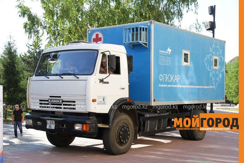 Новости Уральск - Мобильная медицинская бригада отправилась в отдаленные районы ЗКО