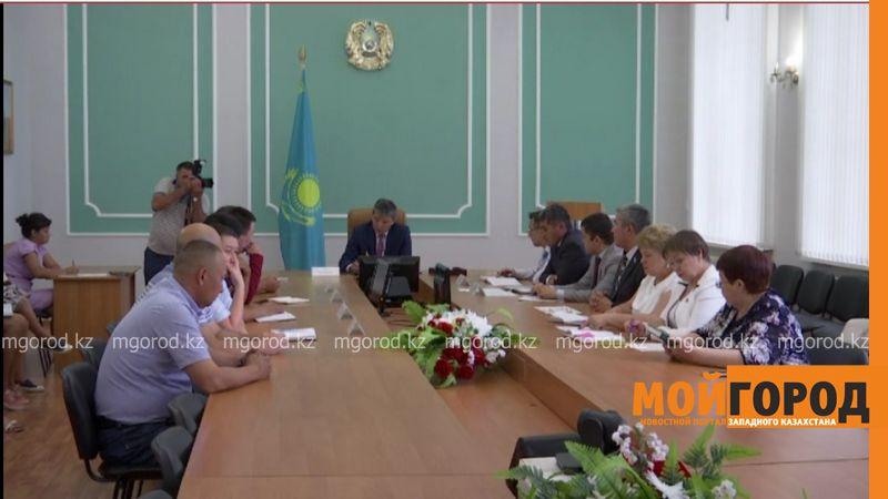Новости Уральск - В Бурлинском районе обсудили вопросы благоустройства Аксая