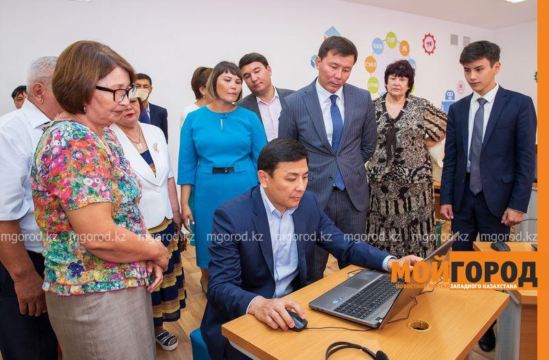 Новости Уральск - Аким ЗКО ознакомился с завершением ремонта школы в районе