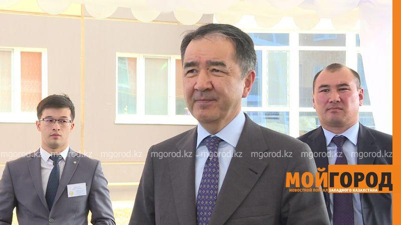 В Уральске премьер-министр проинспектировал строительство дороги