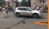 В Уральске главврач больницы сбил женщину на светофоре