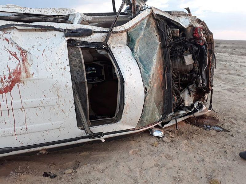 Маңғыстау облысында ауыр жол апатынан 3 адам қаза тапты
