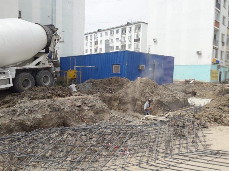 Новости Атырау - В Атырау 45 домов микрорайона Нурсая подключат к центральной отопительной системе