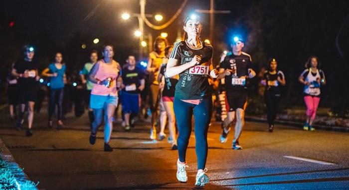 В Атырау во время ночного марафона перекроют движение